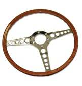 "C28590 E - Type 15"" steering wheel Fits all 6 cylinder XKE's from 61-70"