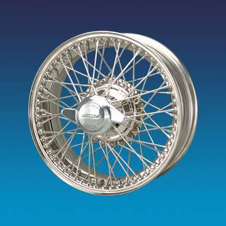 Stainless Steel Wire Wheel | Jaguar Xk150 5x16 60 Spokes Stainless Steel Wire Wheel